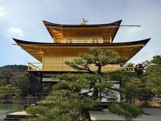 #京都 #金閣寺 #京都旅行 #日本の四季 #冬の京都の写真・画像素材[488836]