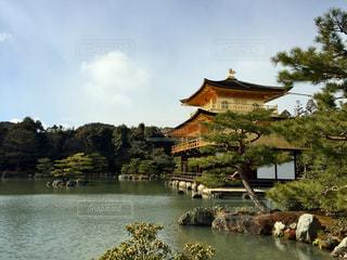 #京都 #金閣寺 #京都旅行 #日本の四季 #冬の京都の写真・画像素材[488837]