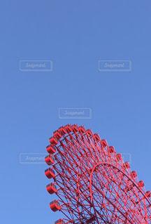 澄んだ青い空の写真・画像素材[1668890]