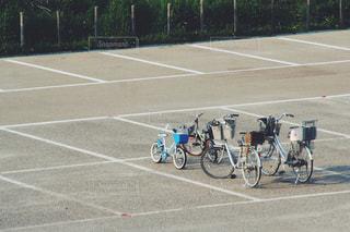 自転車の家族の写真・画像素材[2955058]