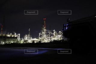 夜景の写真・画像素材[490870]