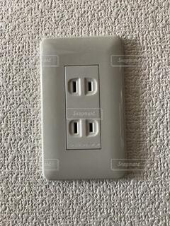 #コンセント#電源#電気#差し込み口の写真・画像素材[493452]