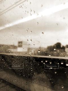 雨の中での写真・画像素材[821964]