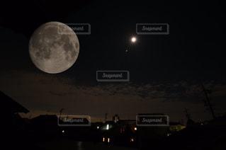 月・MOON・夜空・妖艶・星・STARの写真・画像素材[491518]