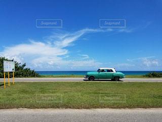 青空ドライブの写真・画像素材[492254]