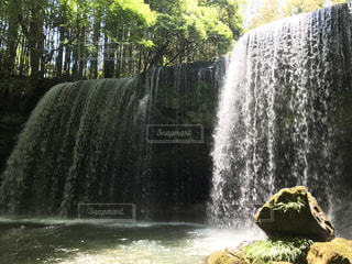 鍋ヶ滝の写真・画像素材[491927]