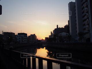 日の出の写真・画像素材[497333]
