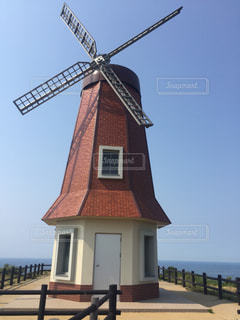 風車の写真・画像素材[512186]