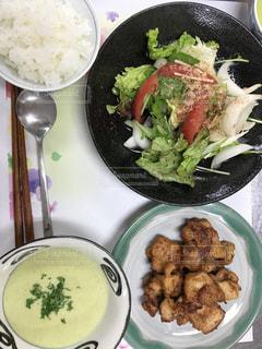 今日の晩御飯の写真・画像素材[782145]