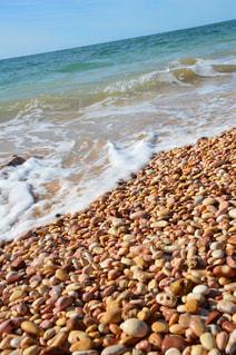 カラフルなビーチの写真・画像素材[1037170]