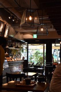 カフェの写真・画像素材[504122]