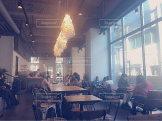 カフェの写真・画像素材[494793]