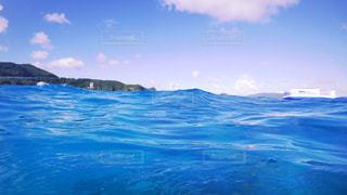 水の大きな体の写真・画像素材[722368]