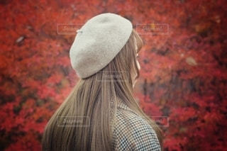 帽子をかぶった人の写真・画像素材[2768053]