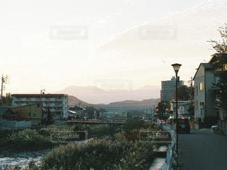 街の通りのビューの写真・画像素材[909254]