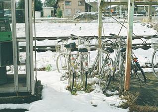 北陸の冬の写真・画像素材[1738526]