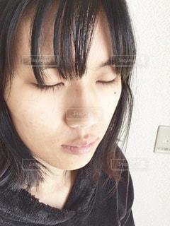 女性・すっぴんの写真・画像素材[2119966]