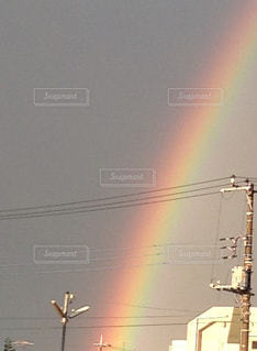 虹の写真・画像素材[497695]