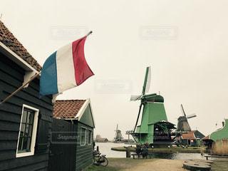 風車の写真・画像素材[520556]