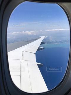 沖縄上空の写真・画像素材[866054]