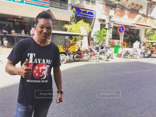 カンボジア、プノンペンの写真・画像素材[930958]