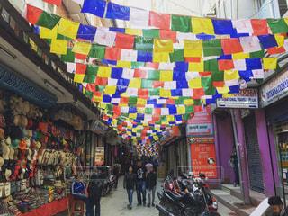 ネパール、カトマンズ。の写真・画像素材[1014113]