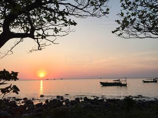 カンボジア、ロンサレム島の写真・画像素材[1220515]