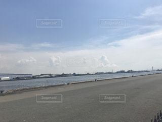 コンクリートと海その1の写真・画像素材[807789]