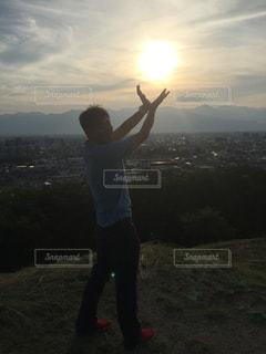 夕日の写真・画像素材[501619]