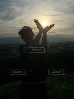 夕日の写真・画像素材[501621]