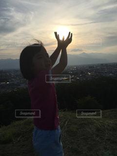 夕日の写真・画像素材[501622]