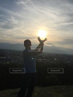 夕日の写真・画像素材[501623]