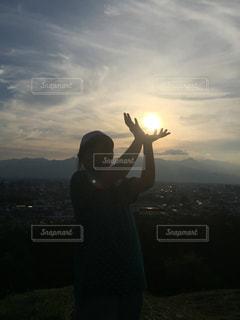 夕日の写真・画像素材[501624]