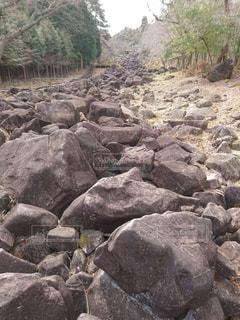 岩場の写真・画像素材[505699]