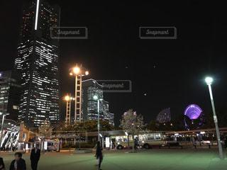 夜景の写真・画像素材[502542]