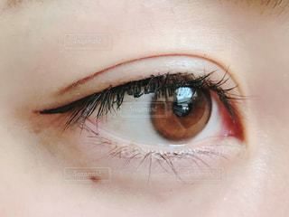 目のアップの写真・画像素材[894472]
