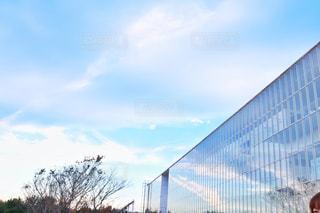 空の反射の写真・画像素材[908729]