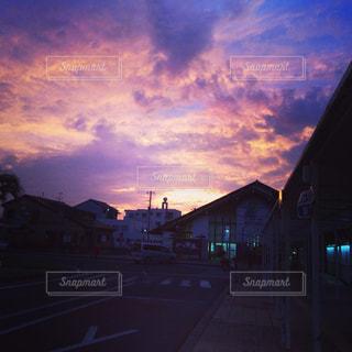 夕日の写真・画像素材[568946]