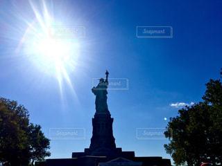 自由の女神の写真・画像素材[862185]