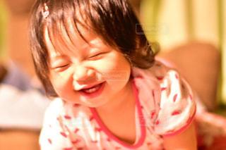 笑顔の女の子の写真・画像素材[730232]