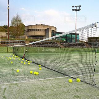 テニスの写真・画像素材[1296340]