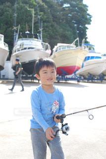 さ!釣りに行くぞ!の写真・画像素材[2236658]