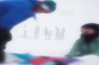 人がぼやけてをクローズ アップの写真・画像素材[1646236]