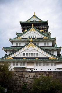 大阪城の写真・画像素材[1633047]