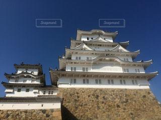 姫路城の写真・画像素材[703293]