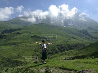 空気の澄んだ山の写真・画像素材[779719]
