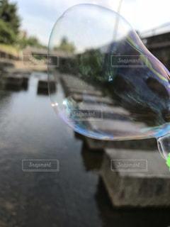 シャボン玉の写真・画像素材[2184121]