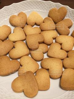 ハートクッキーの写真・画像素材[2205472]
