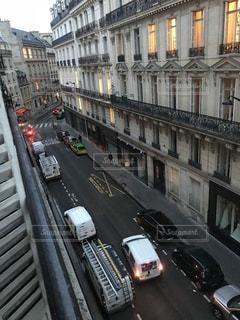 フランスの街並みの写真・画像素材[2211119]