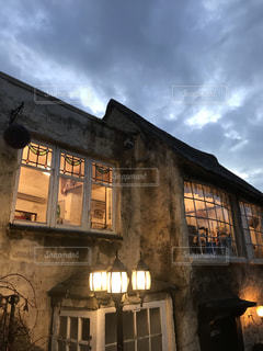 イギリス村の夜の写真・画像素材[2215568]